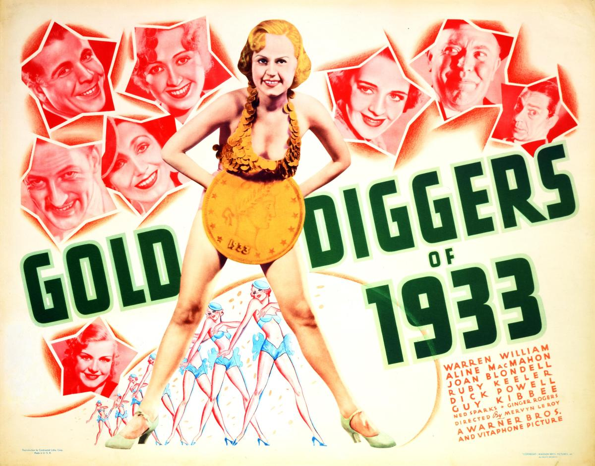 #76 Gold Diggers of 1933 (1933)