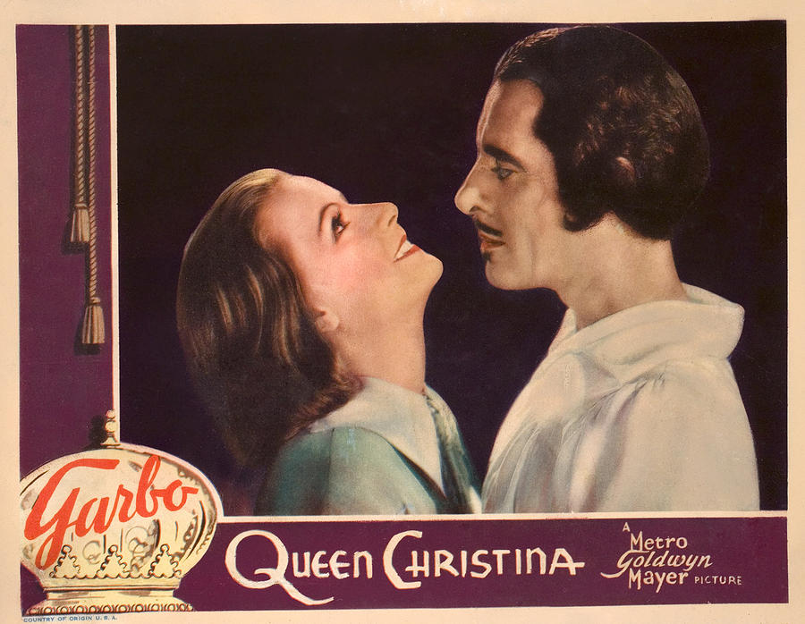 Queen Christina Greta Garbo vintage movie poster print #11